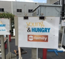 Young & Hungry sign